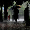 newburyport: A man walks down Merrimac Street in Newburyport Sunday as rain from Hurricane Irene pours down. Jim Vaiknoras/Staff photo