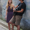 Newburyport: Folk Duet Maudsley consisting of Ashley Plante and Joe Bernardi, the pair will be busking though Europe later this summer. Jim Vaiknoras/Staff photo