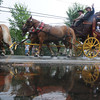 newburyport: The Wells Fargo Wagon makes it's way down High Street in the Yankee Homecoming Parade Sunday. JIm Vaiknoras/staff photo