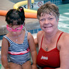 Newburyport: Vicki Haley, with Mariah Boys, 5, of Newburyport is a children's swim instructor at the YWCA. Bryan Eaton/Staff Photo