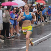 Newburyport: Woman's winner Stephanie Pezzullo at the High Street Mile JIm Vaiknoras/Staff photo