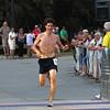 Newburyport: Winner of the Yankee Homecoming Road Race men's 5K, Tim Murtagh of Rowley. Photo by Ben Laing/Staff Photo