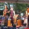Newburyport: Beatlejuice performs in Market Landing Park at the Yankee Homecoming Waterfront Concert Series. JIm Vaiknoras/Staff photo