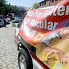 Newburyport: Firefighters collect money for MD in Market Square during their annual Yankee Homecoming Fill the Boot Drive. Jim Vaiknoras/Staff photo