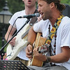 Newburyport: Michael Bernier and Uprising performs at Market Square Friday afternoon. Jim Vaiknoras/Staff photo