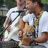 Newburyport: Michael Bernier and Uprising performs at Market Square Friday afternoon. Jim Vaiknoras/Staff photo
