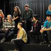 West Newbury: The Pentucket High School chorus rehearses an original composition about the slaves' journey north written by Pentucket's director of Jazz, David Schumacher. Bryan Eaton/Staff Photo