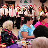 Salisbury: Salisbury seniors enjoyed dinner on Thursday at the Hilton Center as students in the Whittier Regional Vocational Technical High School sang Christmas songs. Bryan Eaton/Staff Photo