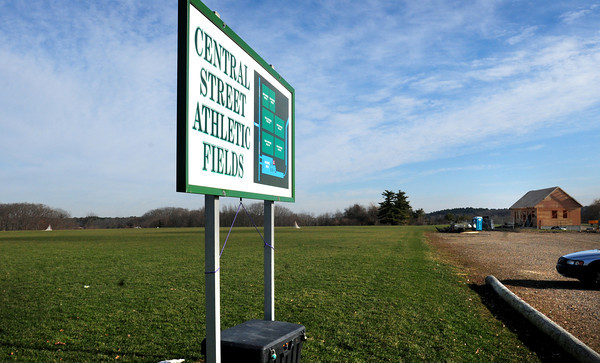 Byfield: The Central Street Athletic Fields in Byfield also known as Manter Field. Bryan Eaton/Staff Photo