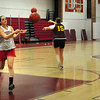 Newburyport: Newburyport girls basketball team started practice yesterday afternoon. Bryan Eaton/Staff Photo