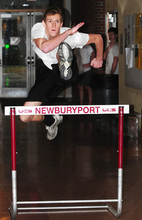 Newburyport: Newburyport track team member John O'Neil. Bryan Eaton/Staff Photo