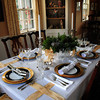 Newbury: Ted Reynold's dining room. Bryan Eaton/Staff Photo