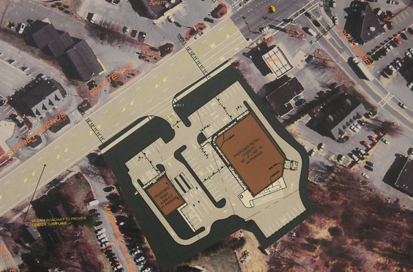 Newburyport: Plans for the new CVS on High street.