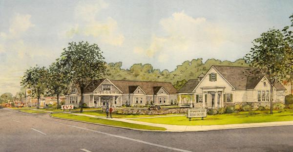 Newburyport: Plans for the new CVS on High street.