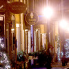 Newburyport: Street lights and Christmas lights illuminate Inn street in Newburyport. Jim Vaiknoras/staff photo