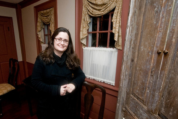 Newburyport: Chair of the Local Historic District Study Committee Sarah White. Jim Vaiknoras/staff photo