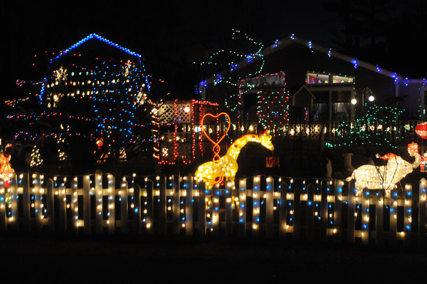 merrimac: The First Place winner for the Merrimac House Decorating Contest<br /> 6 Ridgefield Road. staff photo