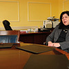 Newburyport: Mayor Donna Holaday talks to the Daily News about her first year in office. Bryan Eaton/Staff Photo