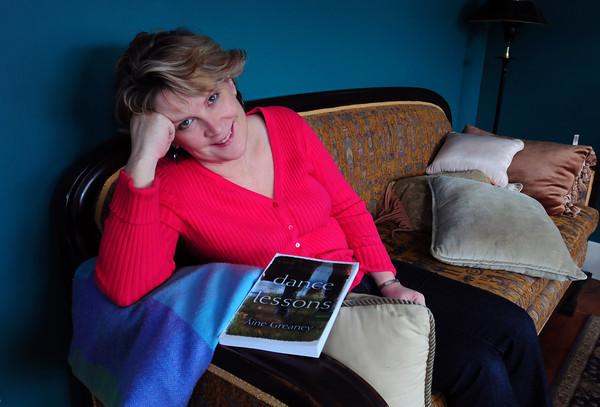Newburyport: Newburyport's Aine Greaney at home. Bryan Eaton/Staff Photo