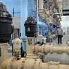 Seabrook: Seabrook Water Superintendent Curtis Slaytonin the new $9 million water treatment which is up and running, removing problem levels of arsenic, as well as iron, manganese and radon from its water. Bryan Eaton/Staff Photo