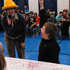 Seabrook; Ryan Wilson, a 10-year-old student at Seabrook Elementary School, wins a pie eating contest in the cafeteria on Monday morning. It's carnival week at Seabrook, and each day different events are featured during lunch time. Mary O'Connor/Staff Photo