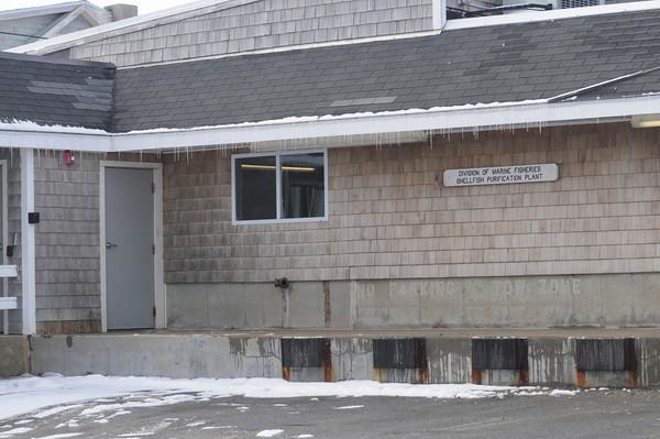 Newburyport: Shellfish Purification Plant on Plum Island. Jim Vaiknoras