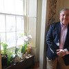Newburyport: Local lawyer Bill Harris at his home on Lime Street in Newburyport. Jim Vaiknoras/Stff photo