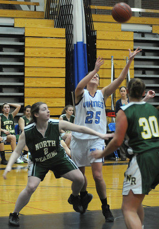 Byfield: Triton's Laura Mills during the Viking game at home against North Reading. Jim Vaiknoras/Staff photo