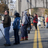 Newburyport: Bird watchers and photographers converge on the Chain Bridge in Newburyport to watch for eagles flying over the Merrimack River Sunday. With the closing of the Hines Bridge for repair, the Chain Bridge has become an ideal place for watching wildlife. Jim Vaiknoras/Staff photo