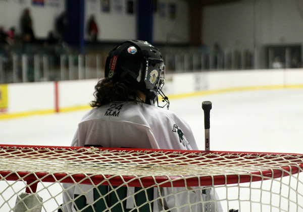 Haverhill: Pentucket goalie Samantha Bomba. Photo by Ben Laing/Staff Photo