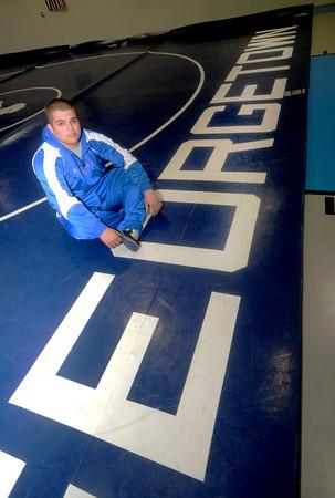 Georgetown:Georgtown wrestler Eric Gesualdi. Jim Vaiknoras/Staff photo