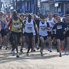 Salisbury: Runners take off on a warm New Years Day in the 30th annual Hang Over Classic on Salisbury Beach. Jim Vaiknoras/Staff photo