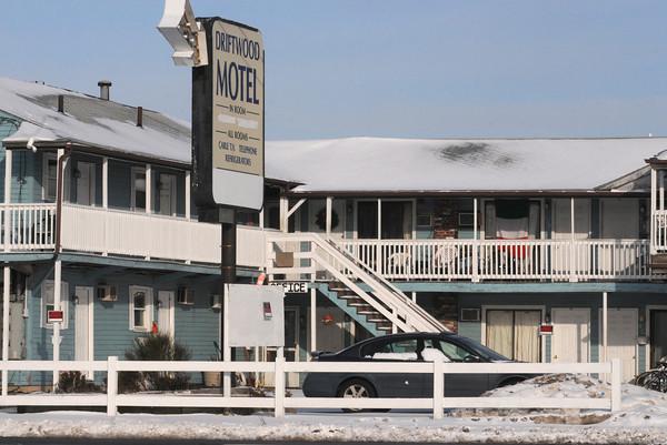 Salisbury: The Driftwood Motel at Salisbury Beach. jim Vaiknoras/Staff photo