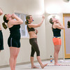 Salisbury: Jan Allen leads a class at Birkram Yoga in Salisbury. Jim Vaiknoras/Staff photo