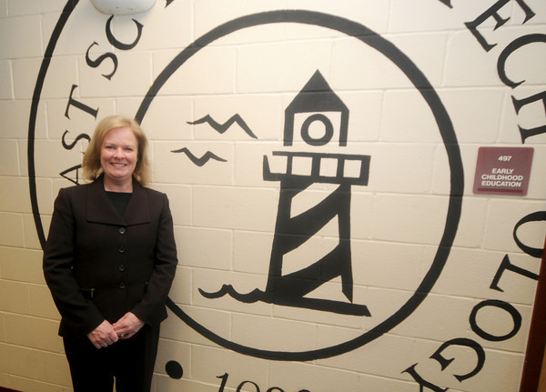 Exeter: Margaret Callahan  is New Hampshire principal of the year at the Seacoast School of Technology in Exeter. jim vaiknoras/staff photo