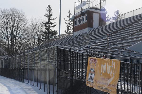 Newburyport: War Memorial Stadium at Newburyport High School. Jim Vaiknoras/Staff photo