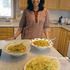 Newburyport: Lygia Soares in her Newburyport kitchen. Jim Vaiknoras/Staff photo