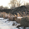 Newburyport: The compost piles off Crow Lane in Newburyport weren't smoldering from fire, but was from a natural decomposition. Bryan Eaton/Staff Photo