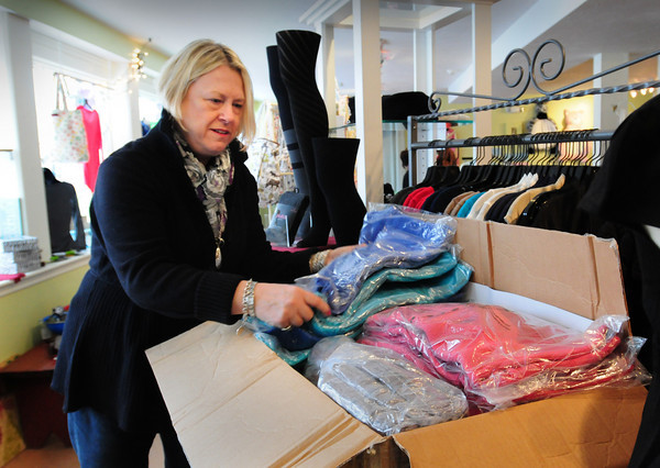 Amesbury: Deb Pagley is moving her Parke Place Gift Shop on Friend Street in Amesbury to a small place around the corner on Main Street. Bryan Eaton/Staff Photo