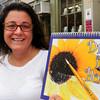 Newburyport: Bresnahan School art teacher Pamela Jamison has put together a book of photographs to help children draw better. Bryan Eaton/Staff Photo