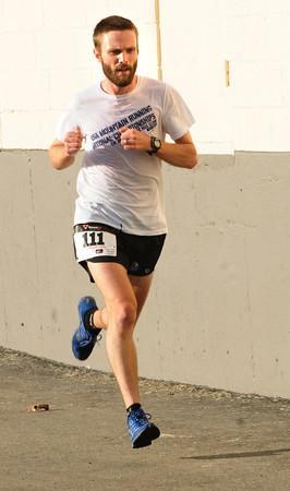 Salisbury: Pat Poletta race winner Jim Johnson of Salem, N.H. Bryan Eaton/Staff Photo