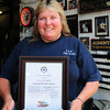 Seabrook: American Legion Auxiliary, Unit 70, Seabrook's Citizen of the Year Myra Fowler. Bryan Eaton/Staff Photo