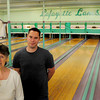 Amesbury: Three generations have had a hand in working at Lafayette Lanes in Amesbury which is closing its doors this week. Terry Quinn and her late husband, John, took over the place in 1970, and her son, Jack, left, and grandson, Brian Fuller, Jr. have both had a hand helping out over the years. Bryan Eaton/Staff Photo