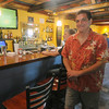 Newbury; Gregg Pugh, owner of the newly restored Beachcoma on Plum Island. Jim Vaiknoras/Staff photo