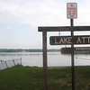 Merrimac:Lake Attitash at the Merrimac boat ramp. Jim Vaiknoras/Staff photo