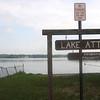 Merrimac:Lake Attitash at the Merrimac boat ramp. Jim Vaiknoras/Staff photo