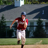 Newburyport: Newburyport's Sam Barlowe (8) sprints into third base during the early innings of Monday afternoon's state tournament game against visiting Austin Prep. Photo by Ben Laing/Staff Photo