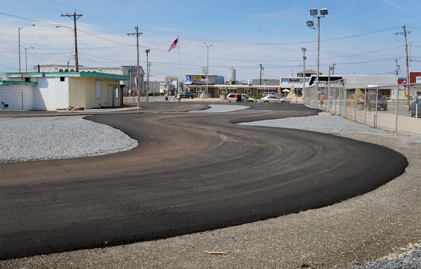 Salisbury: Salisbury Speedway, next to the Salisbury Police Station, and on the site of the old Flying Horses, will be opening next month by the same owners of Kartland on Beach Road. Bryan Eaton/Staff Photo