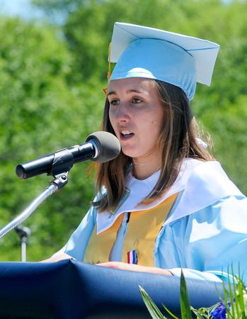 Byfield: Triton Valedictorian Jenna Norton. Bryan Eaton/Staff Photo