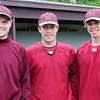 Newburyport: Newburyport High baseball player, from left, Sam Barlow, Will Habib and David Cusack. Bryan Eaton/Staff Photo
